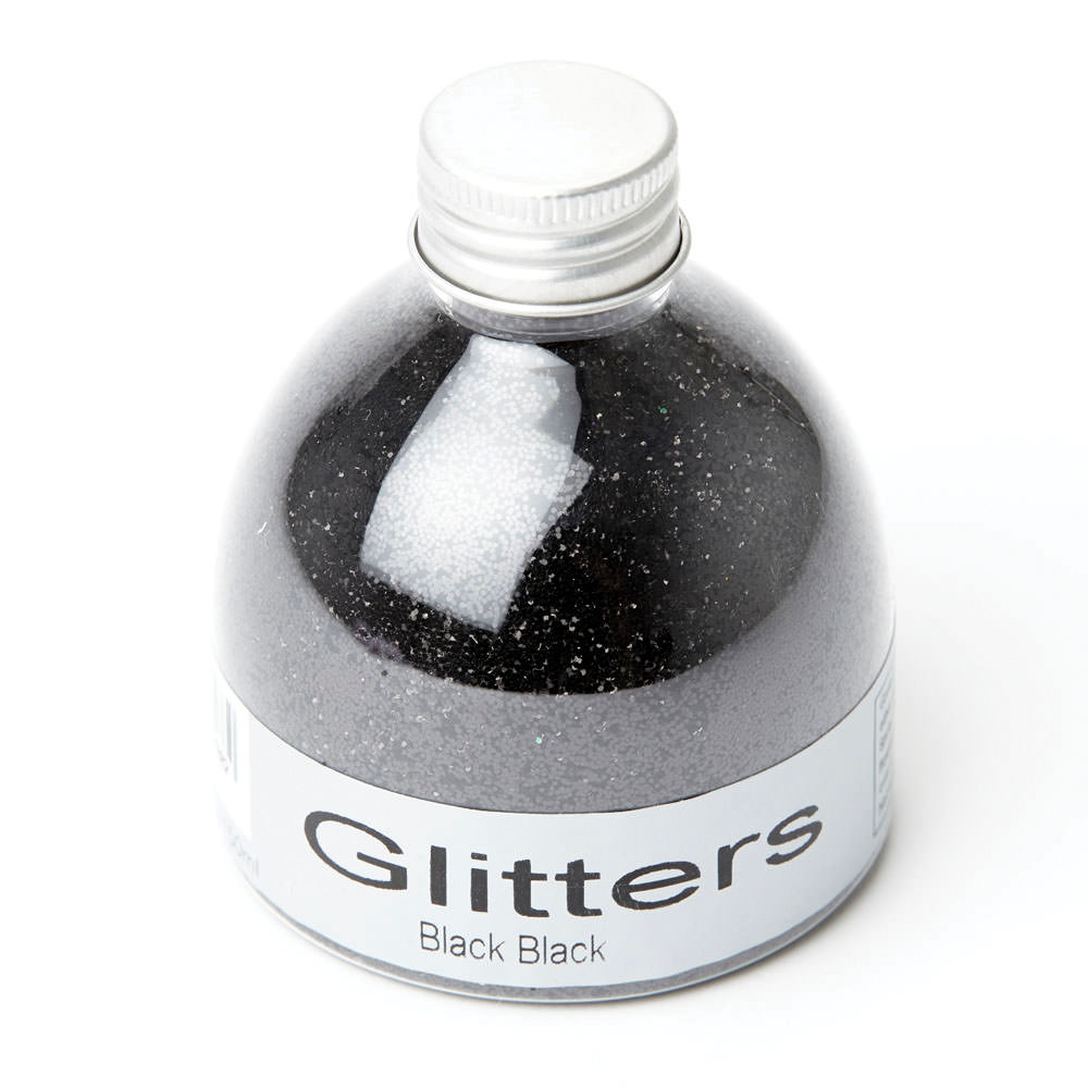 Flower Glitter  Black  150ml