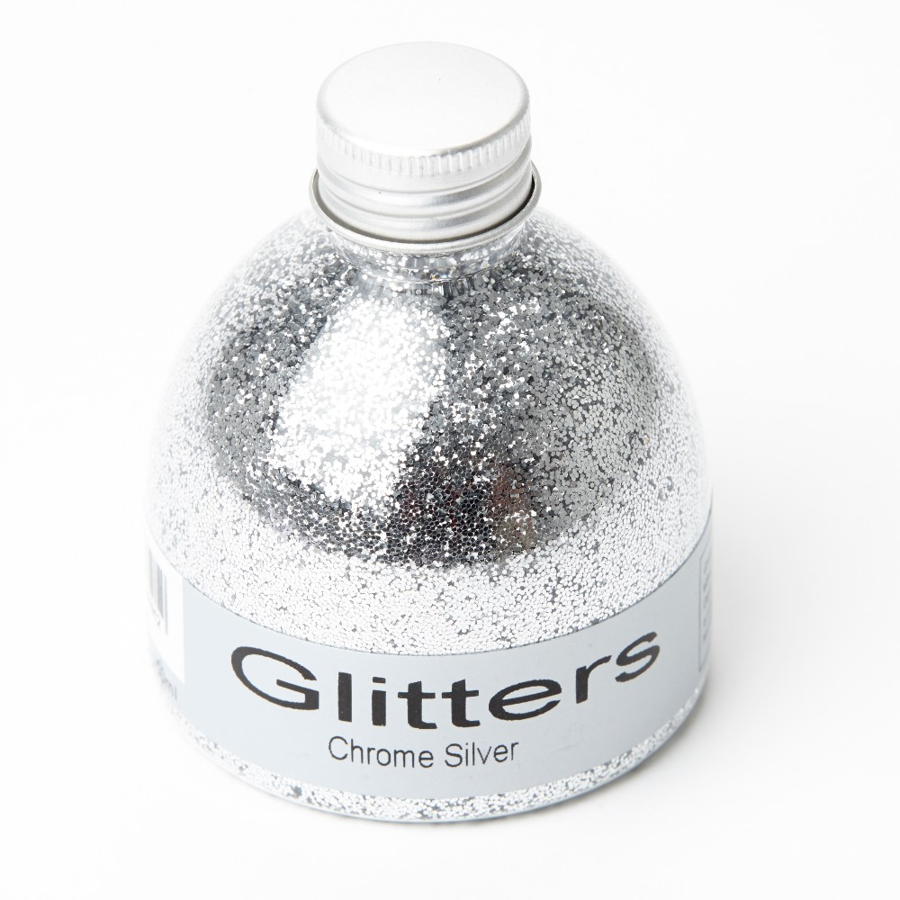 Flower Glitter  Chrome Silver  150ml