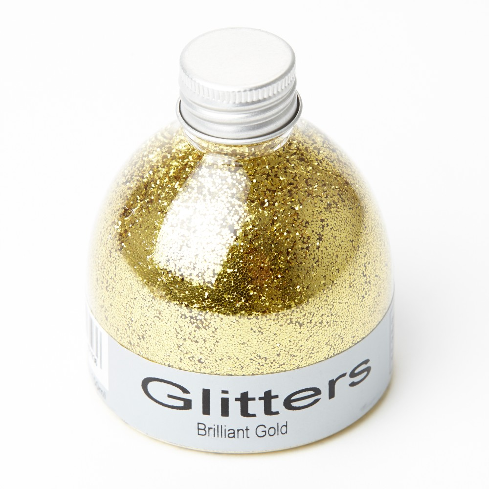 Flower Glitter  Brilliant Gold  150ml