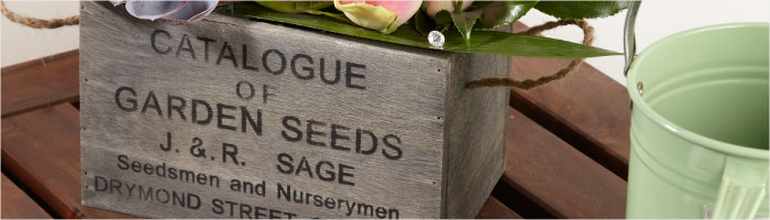 Baskets: Willow Baskets, Troughs & Planters
