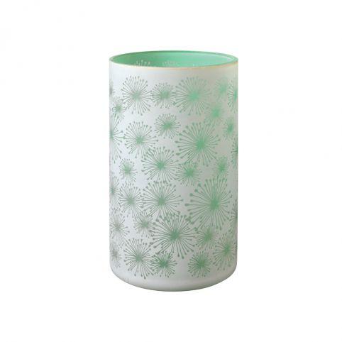 Allium Green Glass Votive 20cm