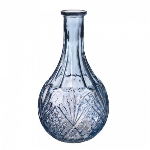 Gisborne Vase - Blue - 22cm