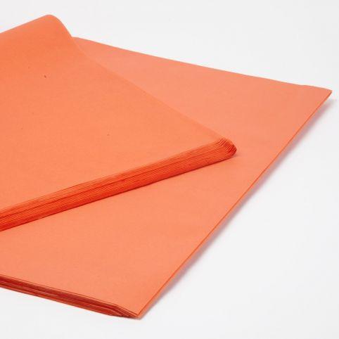 Orange Tissue Paper Sheets (Pack of 240)