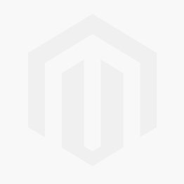 Daisy Tin Oval Trough Lined - Cream - 28cm x 16cm x 11cm