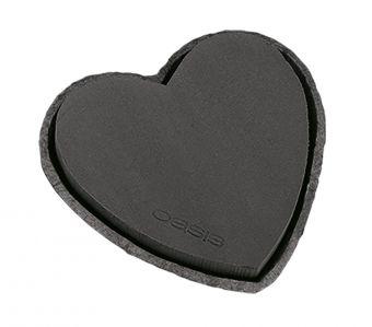 OASIS® Noir Ideal Floral Foam Maxlife with Biolit Heart - 34cm (Pack of 2)