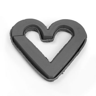 OASIS® Noir Ideal Floral Foam Maxllife with Biolit Open Heart - 43cm (Pack of 2)