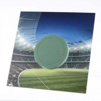 OASIS® Ideal Floral Foam Maxlife on FotoFloral Display Board Stadium Badge 4 - 59x59cm