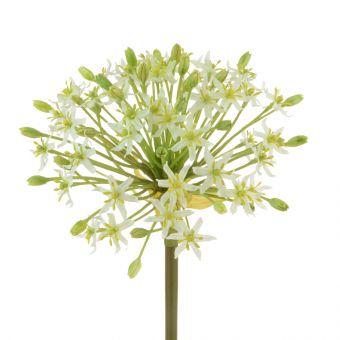 Artificial Giant Allium Stem White