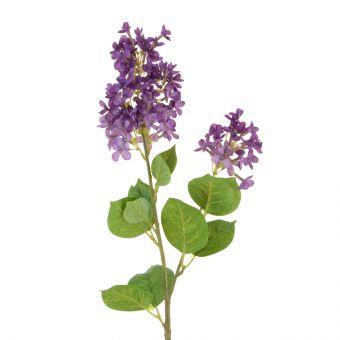 Artificial Lilac Spray Purple