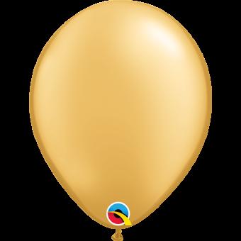 """Plain Gold 11"""" Balloon"""