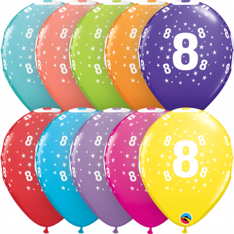 Multipack No.8 Balloons