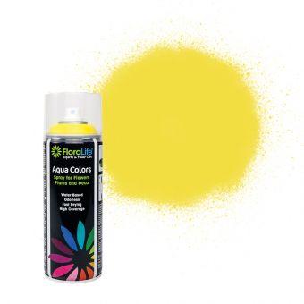 FloraLife® Aqua Colors Traffic Yellow Spray Paint 400ml