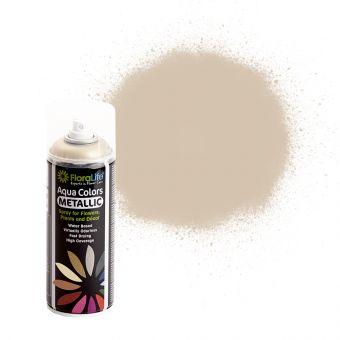 FloraLife® Aqua Colors Metallic Champagne Spray Paint 400ml