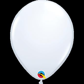 """Plain White 11"""" Balloon"""