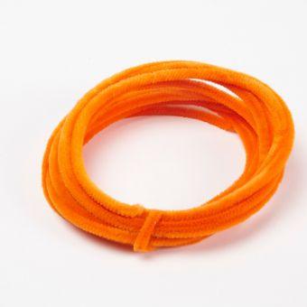 Retro Chenille Wire - Orange - 5m