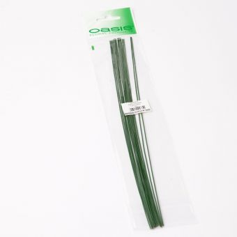 Pre Packed Stub Wire - Green - 30cm x 1.0mm x 25g