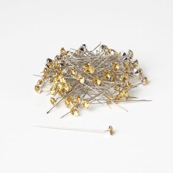 Sparkler Pins - Light Gold - 60mm x 8mm (Pack of 100)