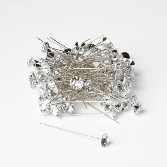 Sparkler Pins - Silver - 60mm x 12mm (Pack of 100)