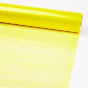 Printed Film Roll Hessian - Yellow - 38 micron - 80cm x 100m