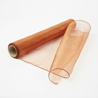 Organza Fabric - Bright Copper