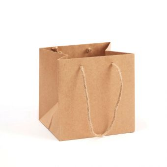 Small Porto Bag - Natural - 18x20cm (Pack of 10)