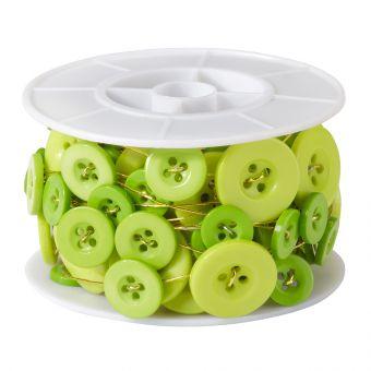 Button Wire - Apple Green - 3m