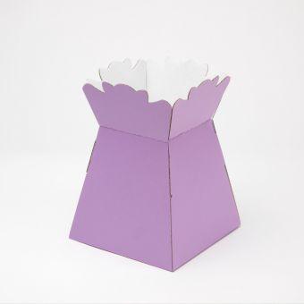Porto Transporter Vase Matt - Lilac (Pack of 25)
