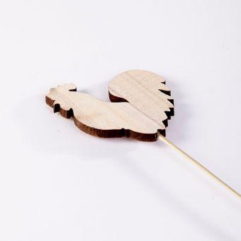 Wooden Hen Pick - 10cm x 40cm (Pack of 12)