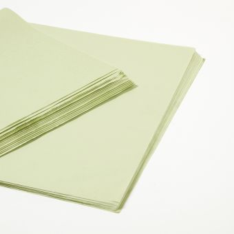 Sage Green Tissue Paper Sheets (Pack of 240)