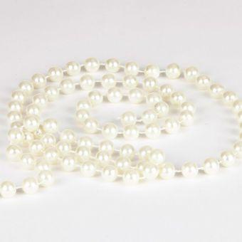 Pearl Bead Chain - Cream - 12mm x 3m