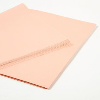 Peach Tissue Paper Sheets (Pack of 240)