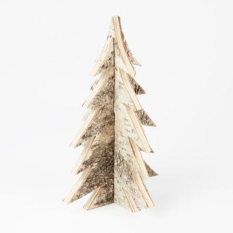 3D Birch Tree - Natural - 21cm x 35cm