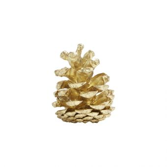 Painted Loose Pine Cones Gold (Pack of 25)
