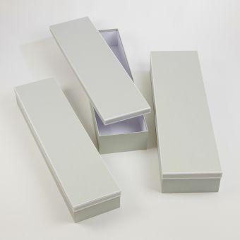 Regency Soft Sage & White Flower Box (Set of 3)