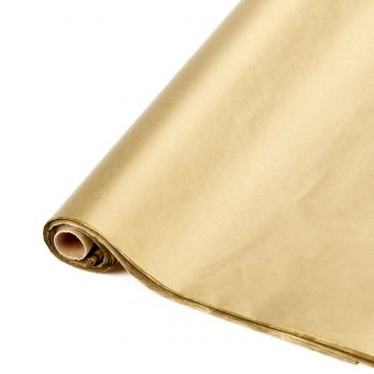 Gold Tissue Paper Sheets (Pack of 48)