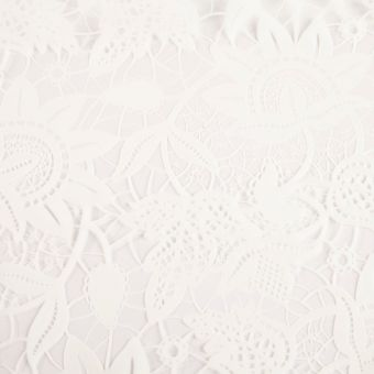 Lace Film in White - 100m Roll