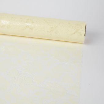 Lace Film in Cream - 100m Roll