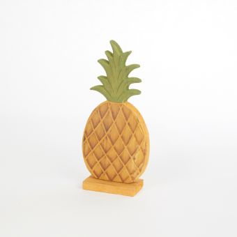 Wooden Pineapple - 14.5cm