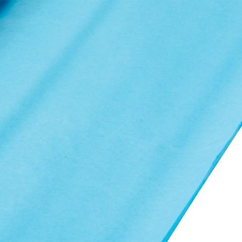 Bright Turquoise Tissue Paper Sheets (Pack of 240)