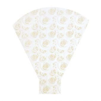 Cream Rose Flower Sleeves