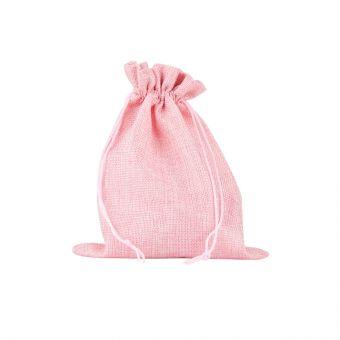 Camila Jute Bag Pink (Pack of 10)