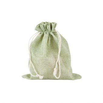 Camila Jute Bag Light Green (Pack of 10)
