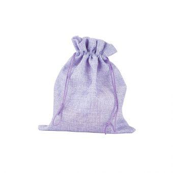Camila Jute Bag Lilac (Pack of 10)