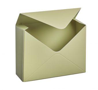 Sage Green Envelope Lined Box (Pack of 10)