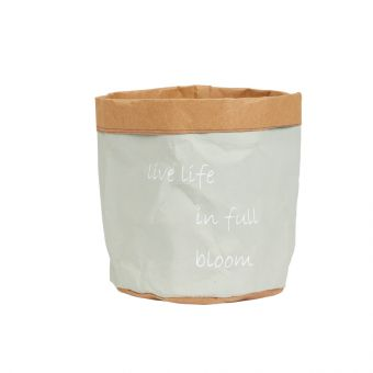 Live Life Clay Lined Bag 15cm