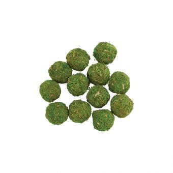 Mossed Sphere 5cm (Pack of 12)