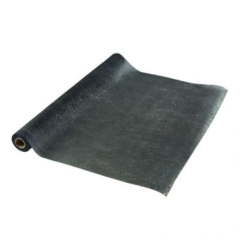 Sparkle Non-Woven Wrap - Black - 10m
