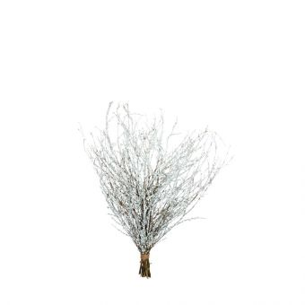 Winter Branches Glittered - Silver - 85cm