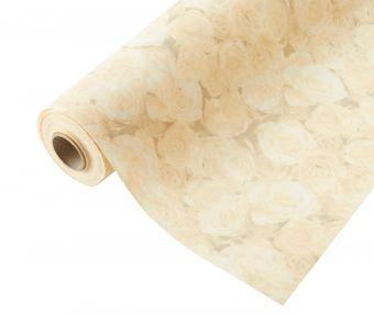 Compostable Wrap Rose Design - Lemon