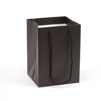 Handtied Porto Bag - Black - 18x25cm (Pack of 10)